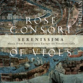 Album artwork for Serenissima. Rose Consort of Viols