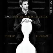 Album artwork for Bach: Suites for Solo Cello / Higham