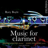 Album artwork for Rory Boyle: Music for Clarinet
