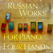 Album artwork for Russian Works for Piano 4 Hands