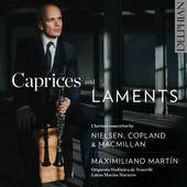 Album artwork for CAPRICES & LAMENTS
