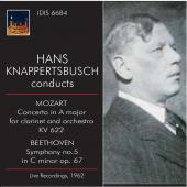 Album artwork for Knappertsbusch conducts Mozart & Beethoven
