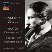 Album artwork for Bartok / Prokofiev:Violin Concertos - Franco Gulli
