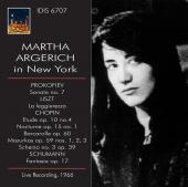 Album artwork for Martha Argerich in New York, 1966