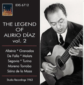 Album artwork for The Legend of Alirio Díaz, Vol. 2