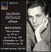 Album artwork for Beethoven: Piano Works / Gould