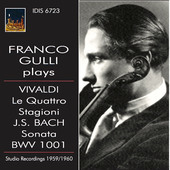 Album artwork for Franco Guilli Plays Antonio Vivaldi & J.S. Bach
