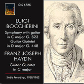 Album artwork for Boccherini & Haydn: Works with Guitar