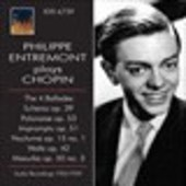 Album artwork for Philippe Entremont Plays Chopin Studio Recordings
