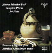 Album artwork for J.S. Bach: Complete Works for Flute