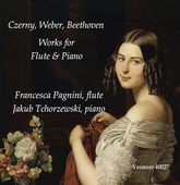 Album artwork for Czerny - Weber - Beethoven: Works for Flute & Pian