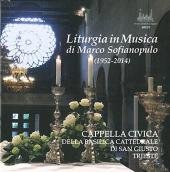 Album artwork for Liturgia in musica di Marco Sofiaopulo