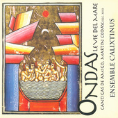 Album artwork for Various authors: Ondas, le vie del mare, Cantigas