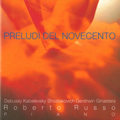 Album artwork for Preludi del novecento: 20th Century Preludes