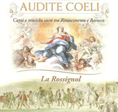 Album artwork for Audite coeli - Canti e musiche sacre tra Rinascime