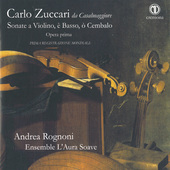Album artwork for SONATE A VIOLINO, E BASSO, O C