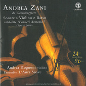 Album artwork for SONATE A VIOLINO E BASSO