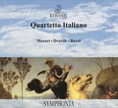 Album artwork for MOZART, DVORAK & RAVEL / Quartetto Italiano