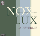 Album artwork for Nox Lux - France & Angleterrre, 1200-1300