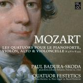 Album artwork for Mozart: Piano Quartets (Badura-Skoda)