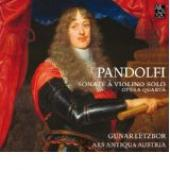 Album artwork for Pandolf: Sonate à violino solo opera quarta