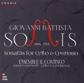 Album artwork for Somis: Sonatas for Cello & Continuo