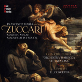 Album artwork for Zuccari: Mass in C Minor & Magnificat in F Major
