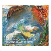 Album artwork for Ricci: 6 String Quartets, Op. 8