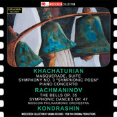 Album artwork for Khachaturian: Masquerde Suite - Symphony No. 3,