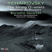 Album artwork for Tchaikovsky: The String Quartets & Souvenir de Flo