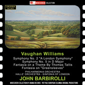 Album artwork for Vaughan Williams: Symphonies Nos. 2 and 5 - Fantas