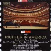 Album artwork for RICHTER IN AMERICA