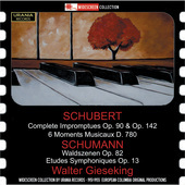 Album artwork for Schubert: Complete Impromptues - 6 Moments musicau