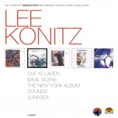 Album artwork for Lee Konitz: Complete Black Saint & Soul Note