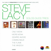 Album artwork for Steve Lacy: Solos Duos Trios