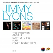 Album artwork for The Complete Remastered Recordings. Jimmy Lyons