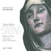 Album artwork for Sabino: VESPRO A 5 VOCI