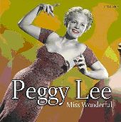 Album artwork for PEGGY LEE - MISS WONDERFUL