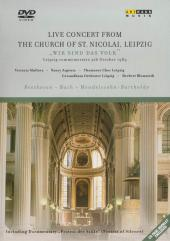 Album artwork for LIVE CONCERT FROM THE CHURCH OF ST. NICOLAI, LEIPZ