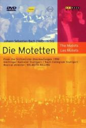 Album artwork for Bach: DIE MOTETTEN / Rilling