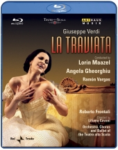 Album artwork for Verdi: La Traviata / Gheorghiu, Maazel