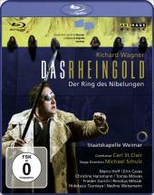 Album artwork for Wagner: Das Rheingold Hoff, Caves, St. Clair)