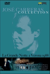 Album artwork for LA GRANDE NOTTE A VERONA / Jose Carreras