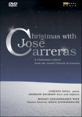 Album artwork for CHRISTMAS WITH JOSE CARRERAS