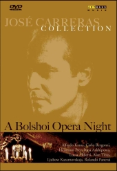 Album artwork for Jose Carreras - A BOLSHOI OPERA NIGHT