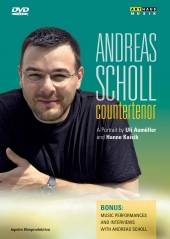 Album artwork for Andreas Scholl: Countertenor - A Portrait