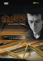 Album artwork for BACH: GOLDBERG VARIATIONS (ANDREA BACCHETTI)