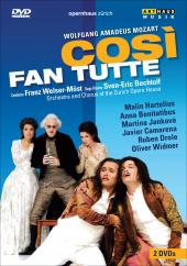 Album artwork for Mozart: Cosi fan tutte (Hartelius, Welser-Most)