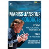 Album artwork for Mariss Jansons: Conducts Beethoven and R.Strauss