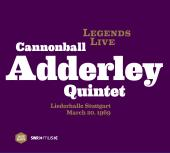 Album artwork for Cannonball Adderley: Legends Live